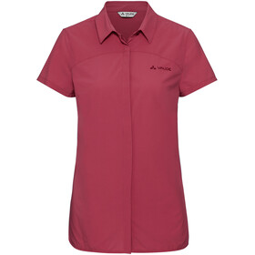 VAUDE Skomer II Shirt Women red cluster